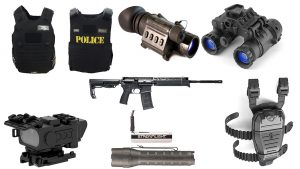 New Police Gear, spread