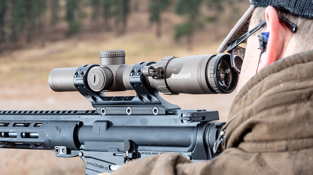 Bushnell SMRS II Pro Riflescope review, rifle, range