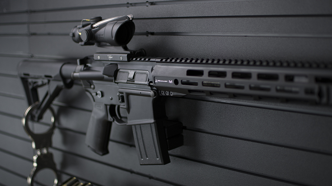 RISE Armament 300LE Rifle review, Rendezvous, wall