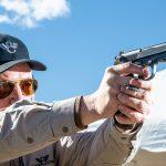 Wilson Combat 92G Vertec Brigadier Tactical pistol, Beretta 92G, firing