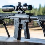 Daniel Defense DD5V2 M-LOK rifle review, display