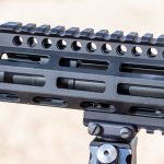 Daniel Defense DD5V2 M-LOK rifle review, rail
