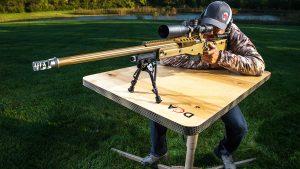 DOA Shooting Bench, shooting benches, firing