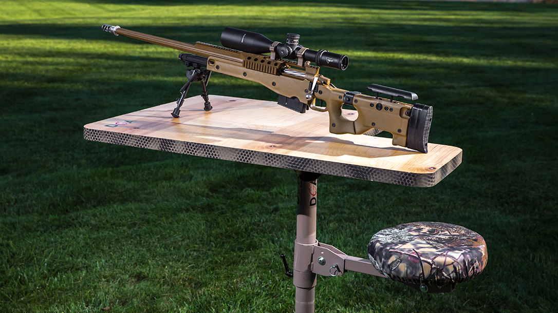 DOA Shooting Bench, shooting benches, rifle