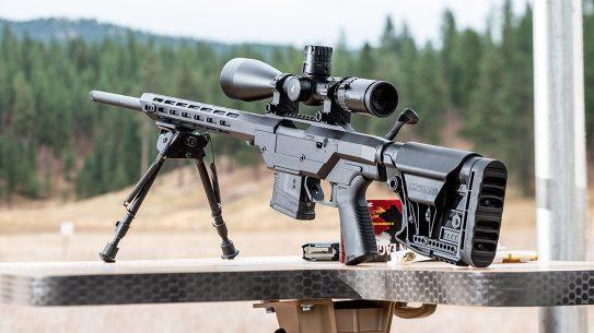 Mossberg MVP Precision Rifle, gun range