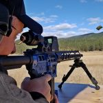Sightmark Ultra Shot M-Spec, reflex sight, rifle, shooting