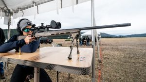 Steyr Pro THB 6.5 Creedmoor review, rifle, Lauren Young range