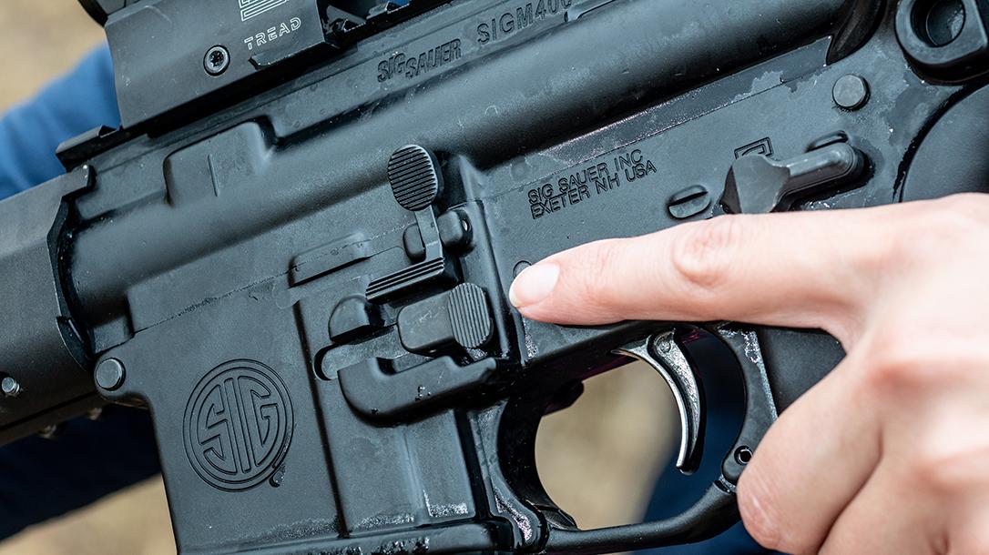 SIG M400 Tread Rifle, Sig Sauer M400 Tread, trigger