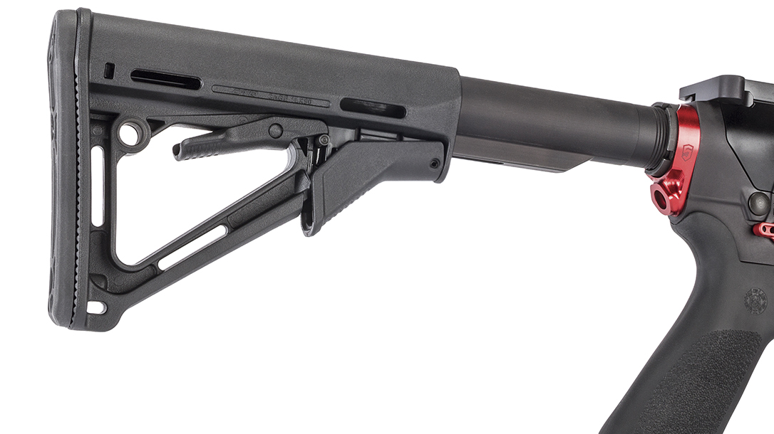 Savage MSR 10 Competition HD rifle, buttstock extended