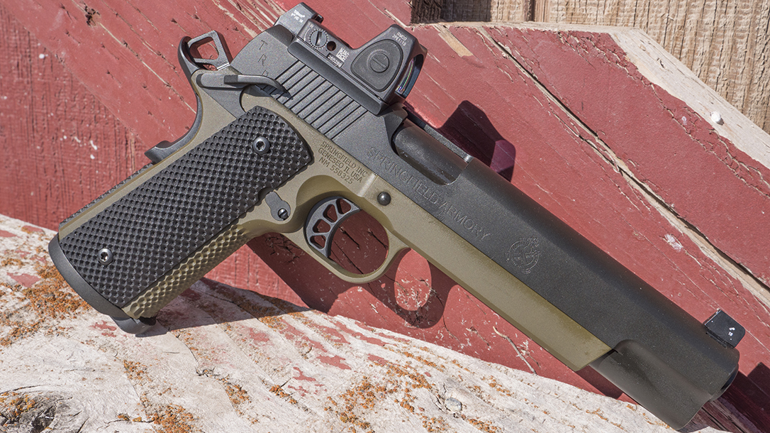 Why Agencies Allowing 1911s Should Look at the Springfield