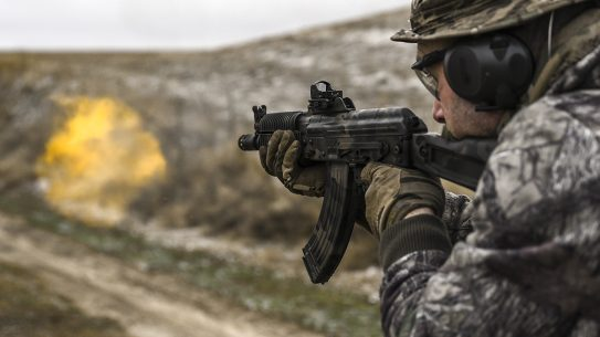 Krinkov SBR, Arsenal SLR-107UR, AK Build, firing