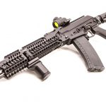 Meridian Defense Project Alpha AK-74 rifle review, Russian, left