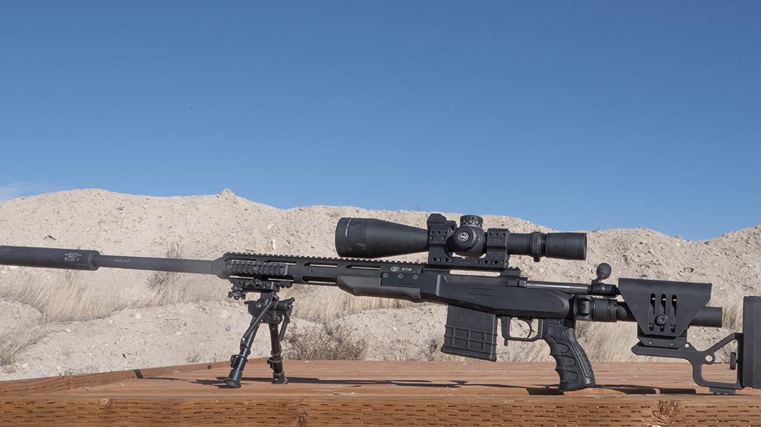 Sabatti STR Precision Rifle, Sabatti Tactical Rifle, left