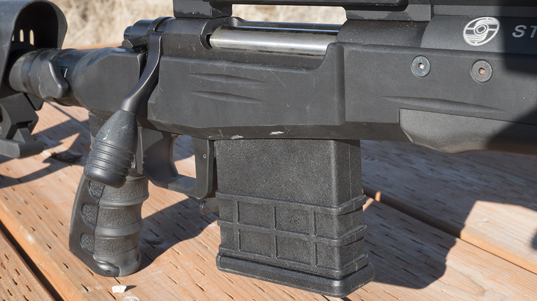 Sabatti STR Precision Rifle, Sabatti Tactical Rifle, receiver