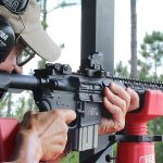 Nikon P-Tactical Spur red dot reflex sight review, aiming