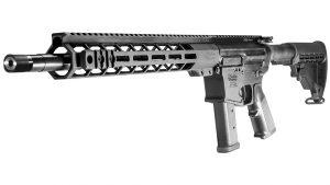 Windham Weaponry 9mm Carbine, Glock magazine, angle