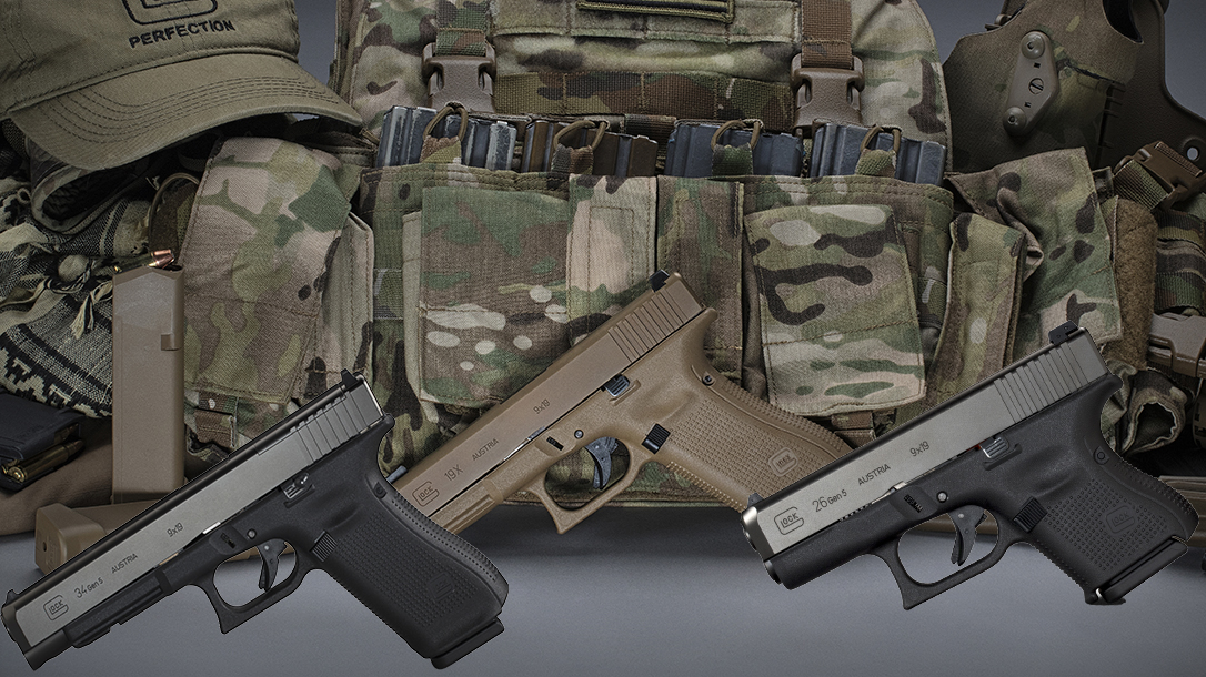 Glock Test: On the Range With the G26 Gen5, G34 Gen5 and G19X