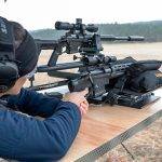 Remington Model 700CP Long-Range Pistol range testing