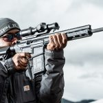 Anderson Manufacturing AM-10 Hunter Rifle Review, .308 Rifle, aim