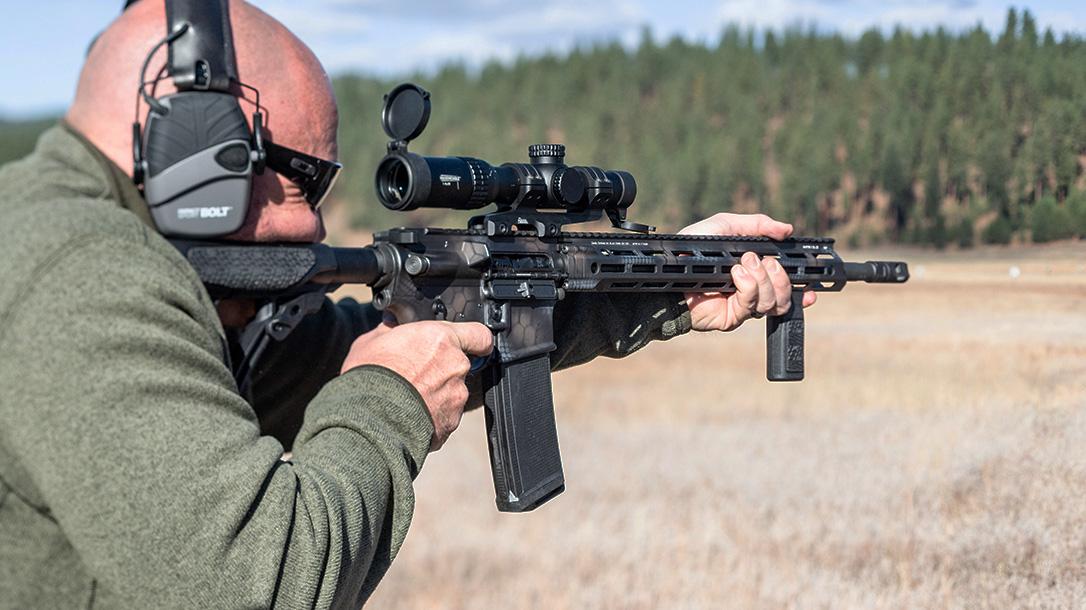Daniel Defense DDM4V7 Rifle lineup, DDM4V7 Pro Rattlecan, aim