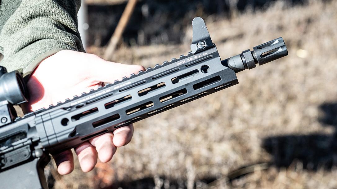 Daniel Defense DDM4V7 Rifle lineup, DDM4V7P, handguard