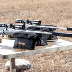 Barrett Fieldcraft 308 Rifle review, shooting bench