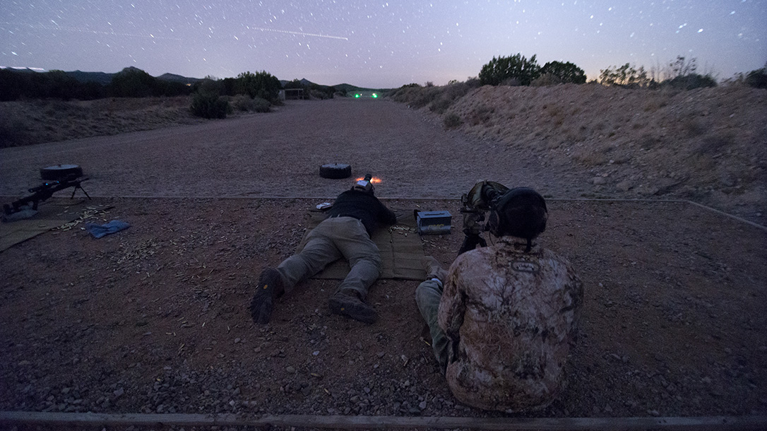 FLIR Thermal Optics, Gunsite Academy, night test