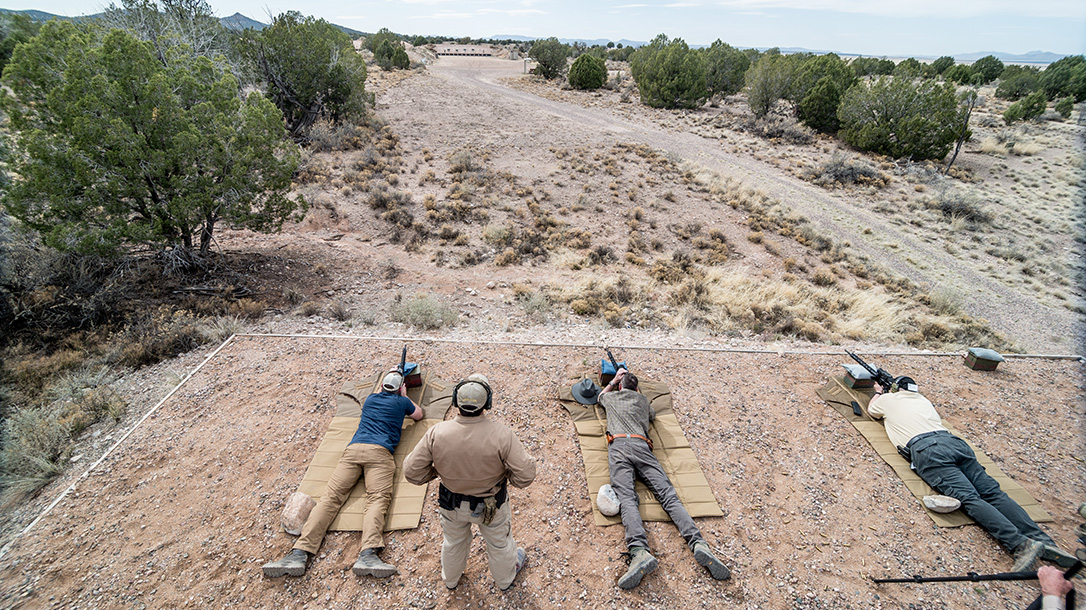 FLIR Thermal Optics, Gunsite Academy, range test