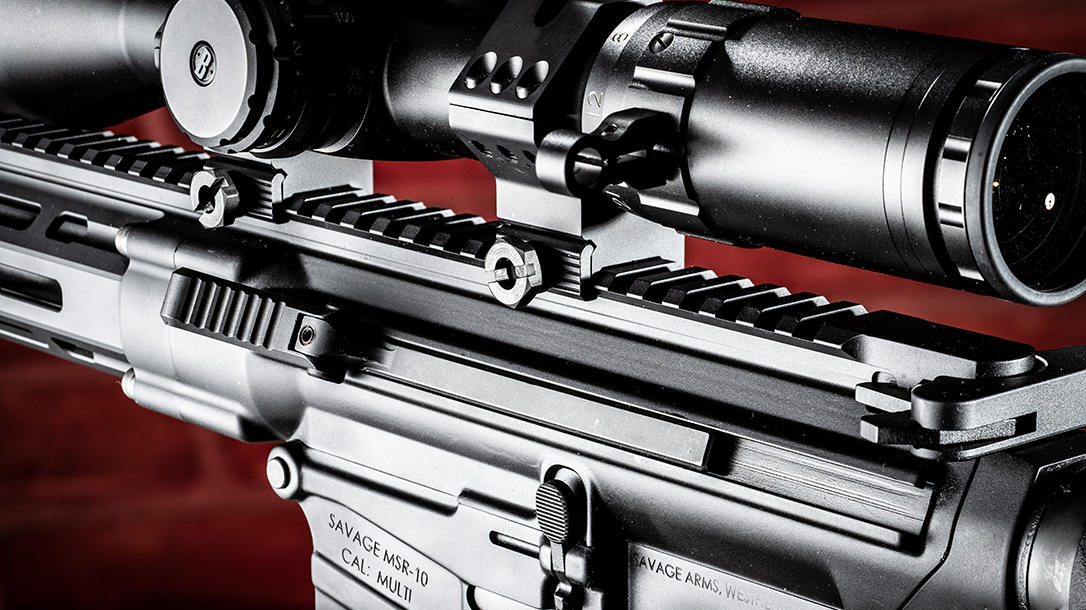 Savage MSR 10 Long Range Rifle review, Savage Arms, rail