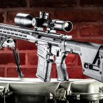 Savage MSR 10 Long Range Rifle review, Savage Arms, rear