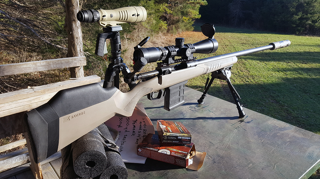 6mm Creedmoor Rifle