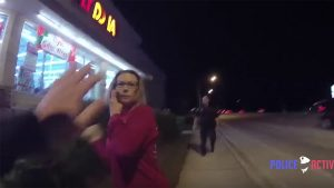 Woman Attacked Officers Rock