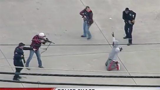 Dallas Police Chase