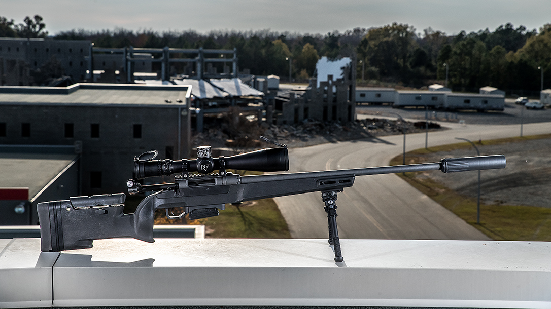 Daniel Defense Delta 5 Review, Daniel Defense Delta 5 Bolt-Action Rifle, roof