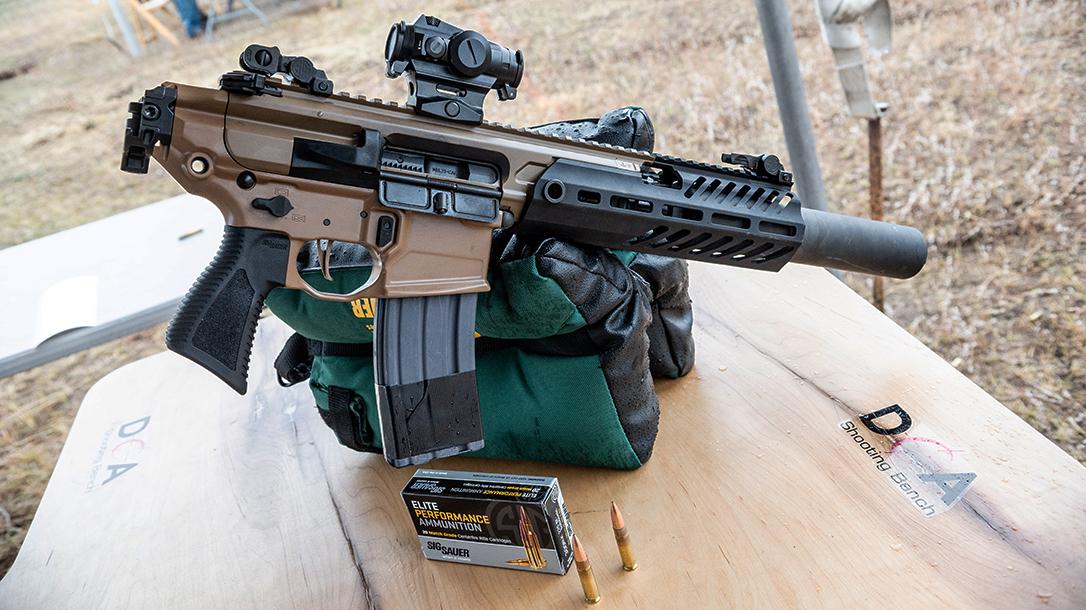 SIG MCX CaneBrake, SIG Sauer MCX Canebrake, .300 BLK Rifle, folded