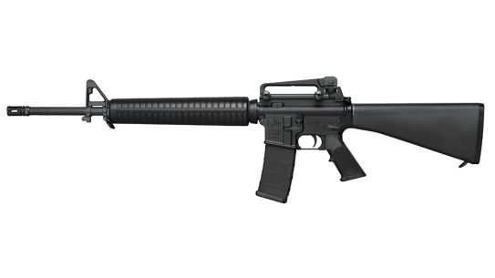 Colt AR-15 production and sales to civilians resumed recently.