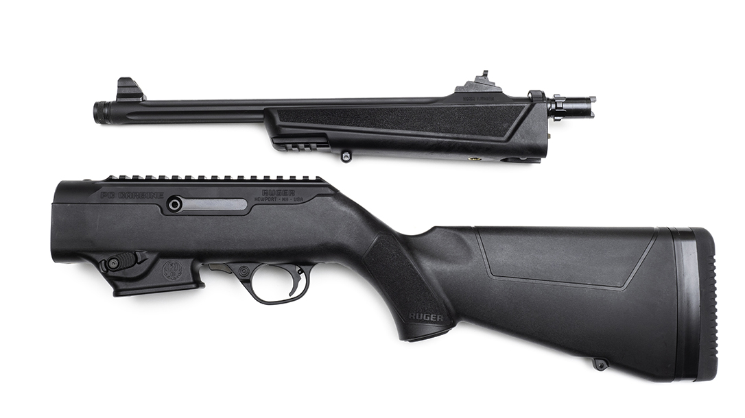 Ruger PC Carbine review, Ruger Pistol Caliber Carbine, apart