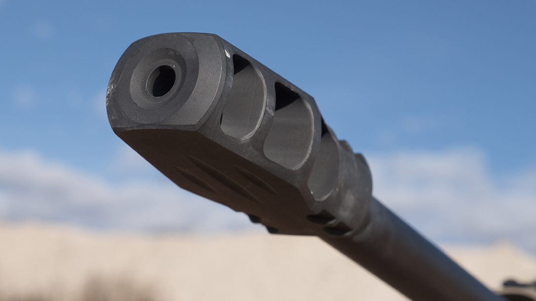 Muzzle Brake rifle, review