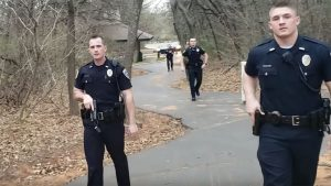 Oklahoma Open Carrier, Edmond Police Department, AR Pistol, Open Carry