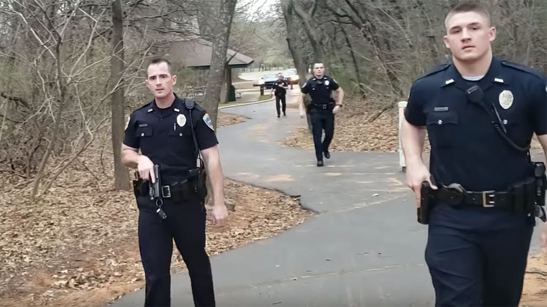Oklahoma Open Carrier, Edmond Police Department, AR Pistol, Open Carry
