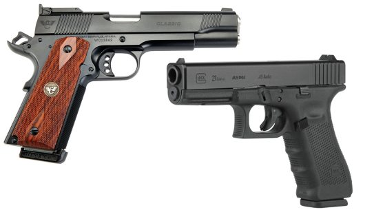 1911 vs Glock