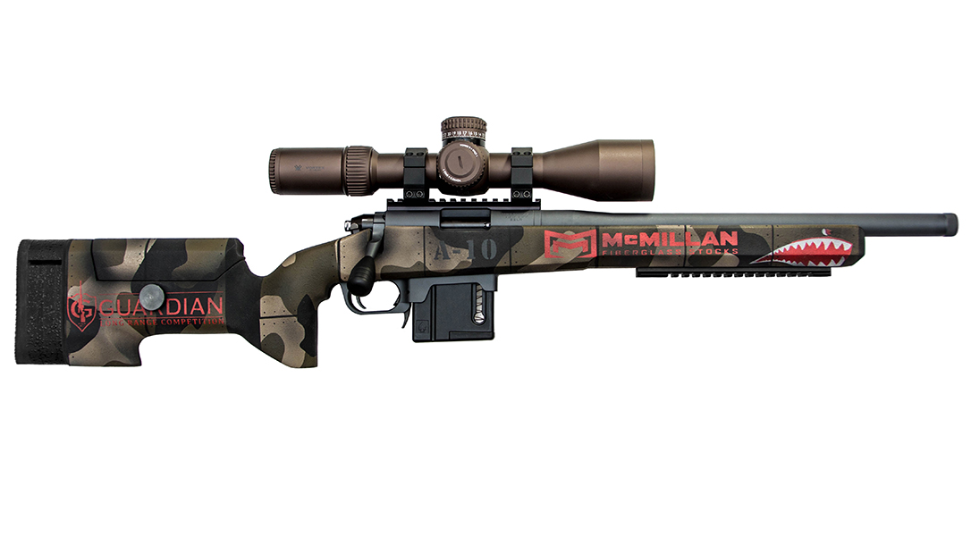 McMillan A-10 Rifle Stock Delivers Custom Features to