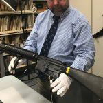 Marine Corps firearms, legendary guns, FN M-16A4, lead