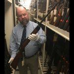 Marine Corps firearms, legendary guns, Carlos Hathcock, Stevens 22