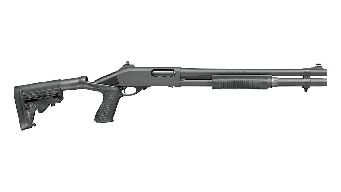 Remington Defense 870 Police Shotgun Ghost Ring Improved Cylinder Collapsible