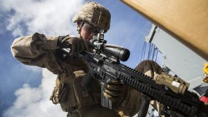 Marine Performs Remedial Action