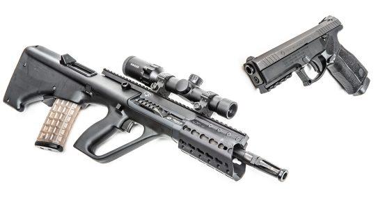 Steyr L9-A2 MF & AUG A3 M1