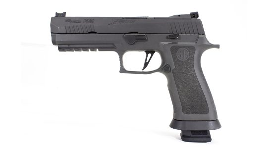 The SIG P320 X5 Legion Pistol left
