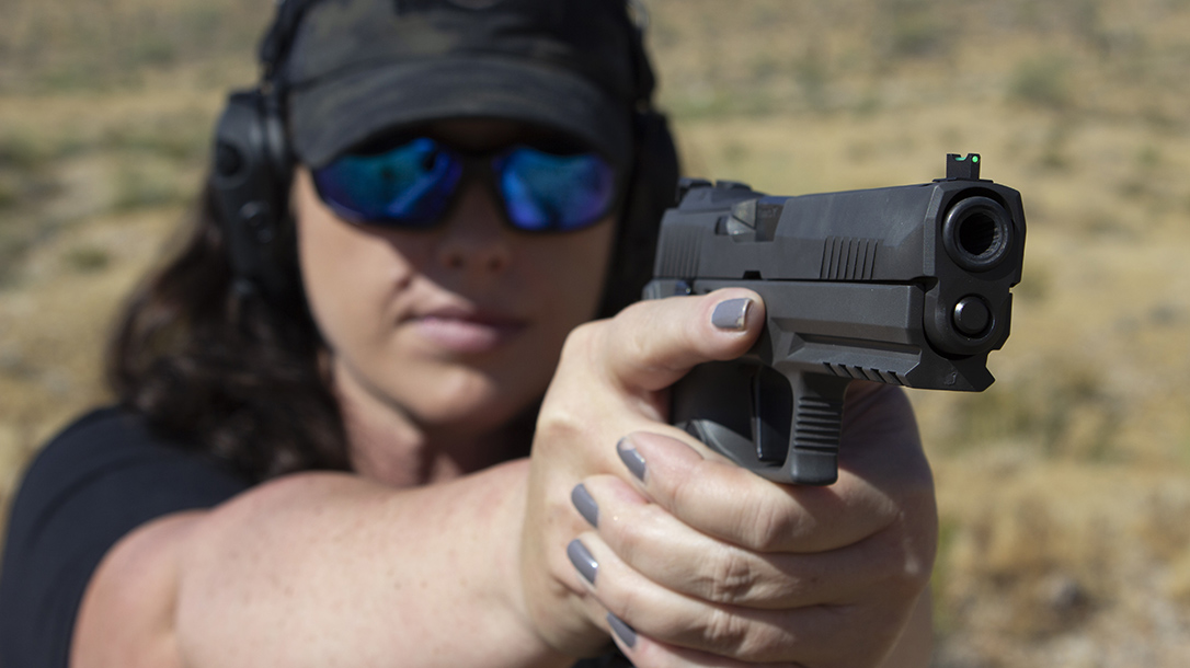 FIRST LOOK: The SIG P320 X5 Legion Pistol Is Heavy and Incredibly Fast