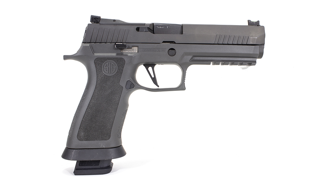 The SIG P320 X5 Legion Pistol right